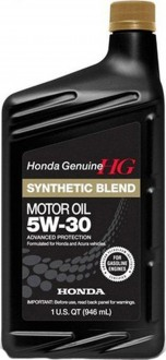 Масло моторное Honda Synthetic Blend 5W-30 SN/GF-5
